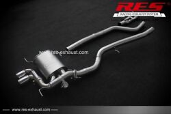Res Valvtronic Catback +2 Tips One Side For Bmw E84 X1 10-15 2.0 / 2.0t / 3.0