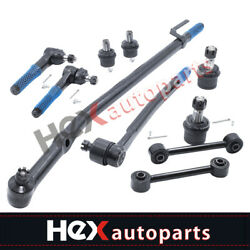 10pc Front Suspension Kit Sway Bar For Ford Excursion F-250 F-350 Super Duty 2wd