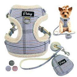 No Pull Dog Harness and Leash Set Front Clip Vest Harness With Cute Treat Bags