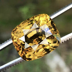 26.08 Cts_unique Huge Museum Rarest 100 Clean Natural Unheated Yellow Zircon