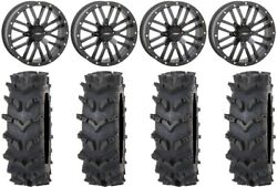 System 3 St-3 Black 20 Wheels 35 Outback Maxand039d Tires Can-am Defender