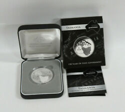 2006 150 Years Of State Government - Tasmania - 5 Fine Silver Proof Coin 150th