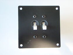 Panel Breaker Ac Dc Ep-brk-2 With Two Breakers 13161 30amp Marine Boat Electric