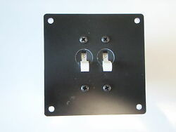 Panel Breaker Ac Dc Ep-brk-2 With Two Breakers 13121 15amp Marine Boat Electric