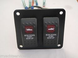 Trimtabs Switch Panel Fits Hydraulic Bennett Style Trim Tab Psc Lighted Vld1a60b