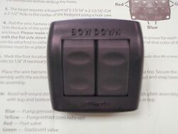 Bennett Euro Rocker Switch 219 Es2000 Trimtab Trim Tab Marine Boat Switches Ebay