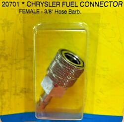 Fuel Line Tank Connector Chrysler Force Seachoice 20701 Brass Female Boatingmall