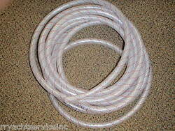 Hose Clear Pvc Tubing Red Tracer 1/2 88 1620126 24ft Marine Boat Water Ebay