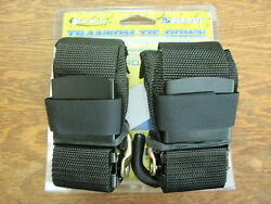 Boat Trailer Transom Tie Downs 74 60065 4ft Pair Straps Safety Trailering Part