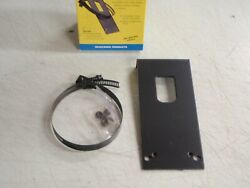 Trailer Lights Vehicle Side Attachment Bracket For 6 And 7 Way Round 58031