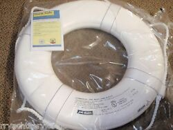 Life Ring Buoy 20 58 Gw20 White Uscg Approved Boat Safety Boatingmall Ebay