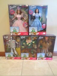 Barbie Wizard Of Oz 1999 Collector Set New In Boxes 5 Dolls Mint W/ Extra Read