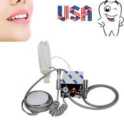 Portable Dental Air Turbine Compressor Low High Handpiece 4H With Bottle FDA USA $57.99