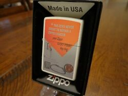 The Cent Never Spent To Repair A Zippo Lucky Penny Ad Zippo Lighter Mint In Box