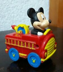 Mickey Mouse Car Collectible Toy Vintage