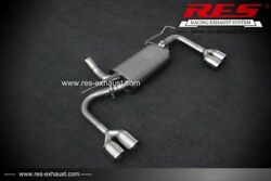 Res Racing Valvtronic Rear Section +1 Each Side For Jeep Wrangler