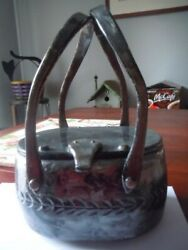 Vintage Llewellyn Gray Pearl Oval Lucite Purse