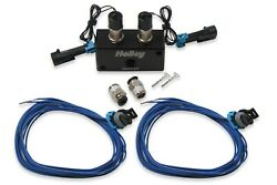 Boost Control Solenoid - Dual Port - Fittings Included - Holley Efi - Kit