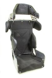 Seat And Cover - 70 Series Oval - 15 In Wide - 20 Degree Layback - Black Tweed C