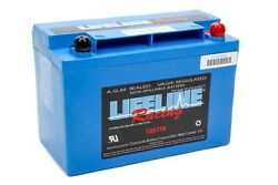 Battery - Race - Agm - 12v - 495 Cranking Amp - Top Post Screw-in Terminals - 9.