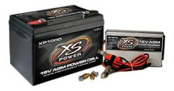 Battery And Charger - Xp Series - Agm - 16v - 675 Cranking Amp - Threaded Termin