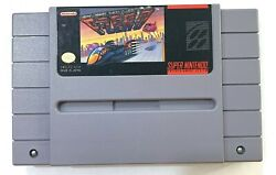 F-zero Super Nintendo Snes Game Tested Working And Authentic