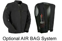 Furygan Vince V3 Airbag Ready Leather Soft Touch Motorcycle Ce Approved Jacket