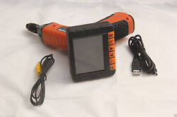 Ent Camera Video Boroscope Ndt Cameras 3.5 Inch Screen 3.9mm To 17mm