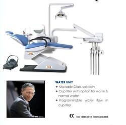 STAR DENTAL CHAIR WITH LED LIGHT OVERHEAD MODEL  2 PROGRAMS E IN CHAIR