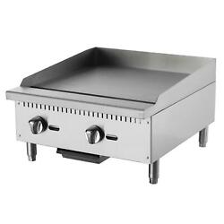 Falcon Food Service Aeg-60 60 Manual Gas Griddle W/ 3/4 Thick Plate