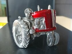 1981 Red Tractor Great American Buckle Co. Belt Buckle Youth