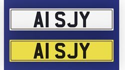 Private Car Registration Number Reg A1 Sjy Airport Engineering Stocks A1sjy