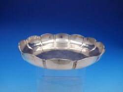1961 Vintage Dublin Irish Silver By We Fluted And Hammered Bowl 4215