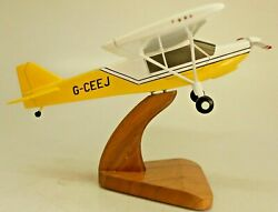 Rans S-7 Courier Airplane Desktop Kiln Dried Wood Model Large Free Shipping