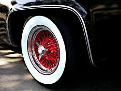 15x3 Wide Whitewall Tire Insert Trim Set Vw Beetle Ford Chevy Hot Rod Rat Rod