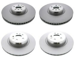Front And Rear Vented Disc Brake Rotors Kit Genuine For Bmw G12 Alpina B7 Xdrive