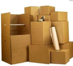 1 Room Wardrobe Moving Kit 10 Packing Boxes And Moving Supplies