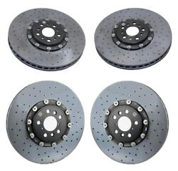 Genuine Front And Rear Carbon Ceramic Disc Brake Rotors Kit For Bmw F90 M5 2018-19