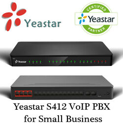 Make Offer Yeastar S412 Voip Pbx For Small Business Analog And Voip Capable System