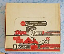 Gilbert American Flyer Set 20730 W/ 21085 Chgo.and Nw Loco And Tender In Ob+papers
