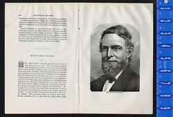 Schuyler Colfax, Former Vice President Of The United States - 1878 Engraving