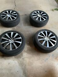 18 In Rims Alloy And Tires Good Condition