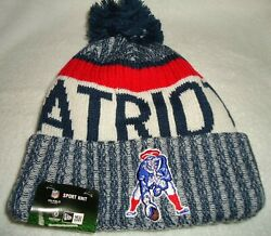 New England Patriots New Era Classic Historic Knit Beanie Cap New With Tags