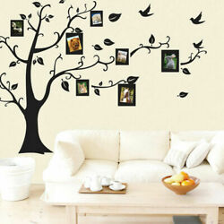 44#x27;#x27;*35#x27;#x27; Photo Frame Wall Sticker Removable Vinyl Family Tree Home Decor US