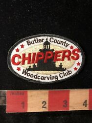 Butler County Chippers Woodcarving Club Wood Carving Patch Woodcarver 99j8