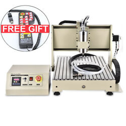1.5KW USB CNC6040 3Axis Router Engraver Engraving Machine 3D Milling Controller