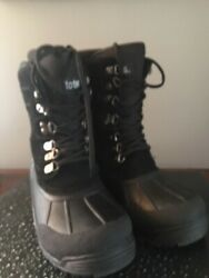 totes boots 8 black pre owned in great condition $22.00
