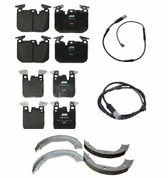 Genuine Front And Rear Brake Kit Pads Sensors Shoes For Bmw F80 F82 F83 M3 M4