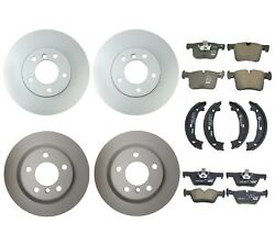 Genuine Front And Rear Brake Kit Disc Rotors Pads And Shoes For Bmw F30 320i 328d