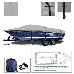 Deluxe V Hull Bowrider Runabout Trailerable Jet Boat Storage Cover